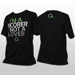 i'm a scorer not a lover